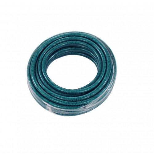 Oypla 15m PVC Flexible Green Hose Outdoor Garden Hose Pipe