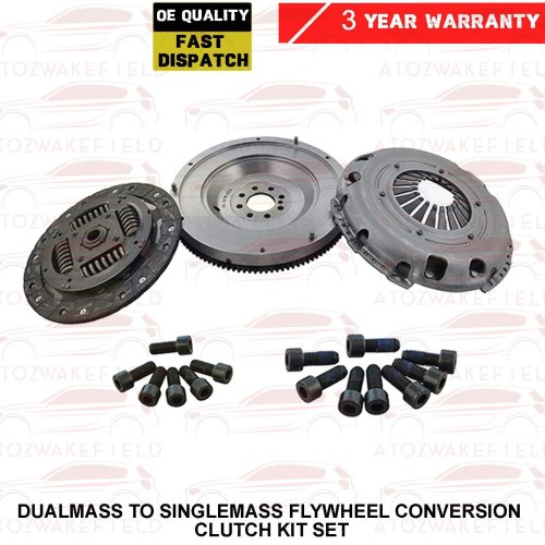 FOR ASTRA H 1.3 CDTI DUAL MASS TO SINGLEMASS FLYWHEEL CONVERSION CLUTCH KIT