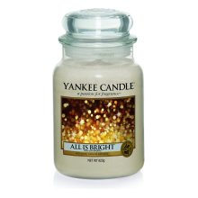 Yankee Candle Large Jar Candle, All is Bright