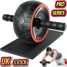 Ab Roller Exercise Wheel for Abdominal Core Strength Training Workout Abs Pro Ship from UK