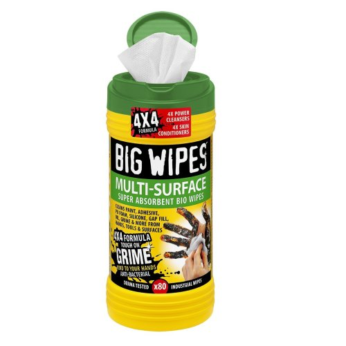 Big Wipes 2440 Multi-Surface Cleaning Wipes (Pack of 80)