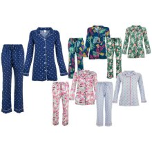 Ladies Pyjamas Set Button Down Women Nightwear