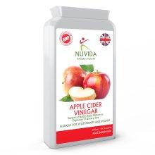 Apple Cider Vinegar Capsules / 500mg / 120 Capsules / High in Pectins