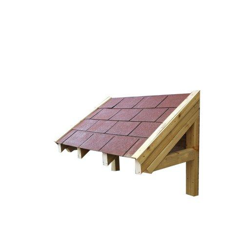 Wooden Felt Timber Front Door Porch