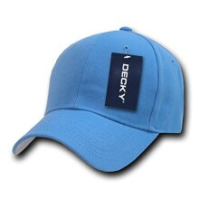 DEcKY Fitted cap, Sky Blue, 7 3/8