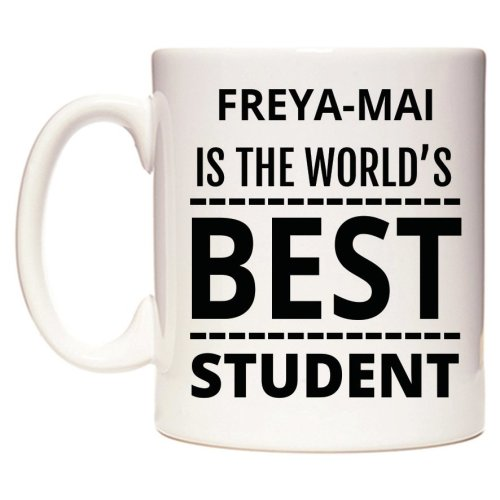 FREYA-MAI Is The World's BEST Student Mug