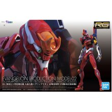 Bandai RG Real Grade Evangelion Type EVA 02 Plastic Model Kit