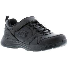 Skechers Glimmer Kicks Younger Boys Trainers black 10-2 UK Size
