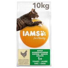 IAMS for Vitality Adult Fresh Chicken Dry Cat Food 10kg