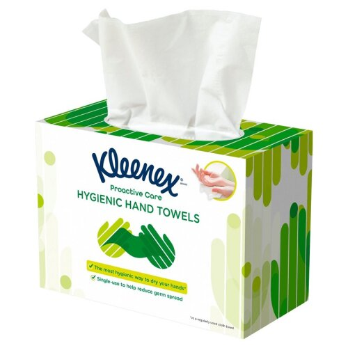 Kleenex Proactive Care Hygienic Hand Towels - 96 Towels