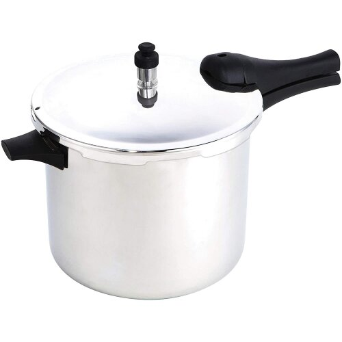 Prestige 47283 Pressure Cooker 7.5L Stainless Steel - Induction hobs Suitable Base - 15lbs PSI, Silver