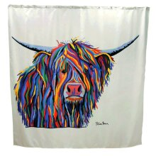 Croydex Shower Curtain Angus McCoo [AF304022H]