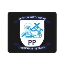 Preston North End Mouse Pad with Stitched Edge Durable Non Mousepad for Laptop, Computer & PC