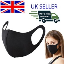 ANTI VIRUS FACE MASK REUSABLE WASHABLE PROTECTIVE COVER FABRIC