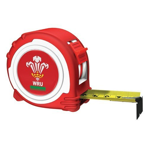 Advent ATM4-5025WRFU Official Welsh Rugby Tape Red / White 5m/16ft  (Width 25mm)