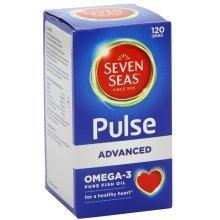 Seven Seas Pulse Advanced Omega-3 120 Capsules