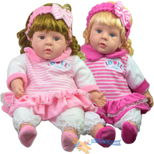 """The Magic Toy Shop 24"""" Lifelike Soft Bodied Baby Doll"""