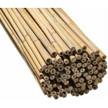 4ft Bamboo Cane Heavy Duty Multipurpose Plant Support Pack of 10 stake