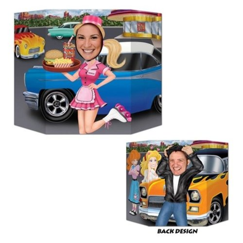 Car Hop/Greaser Photo Prop - Pack of 6