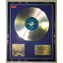OASIS/LTD EDITION CD PLATINUM DISC/DEFINITELY MAYBE
