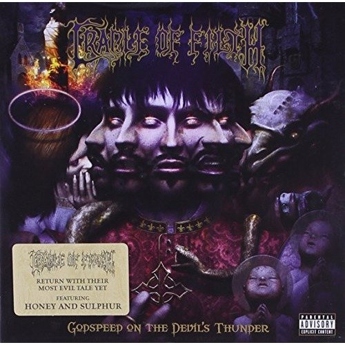 Cradle of Filth - Godspeed on the Devils Thunde [CD]