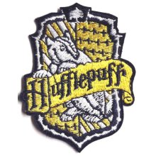 Harry Potter Hufflepuff  Embroidered Iron on patch
