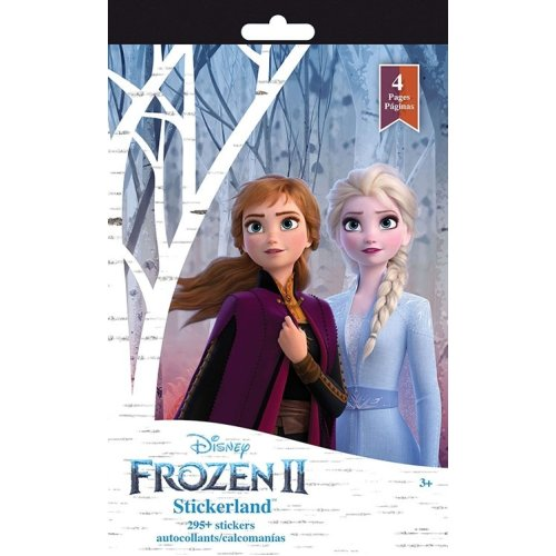 Stickerland Pad 4 pages - Frozen 2 Stationery New st3123