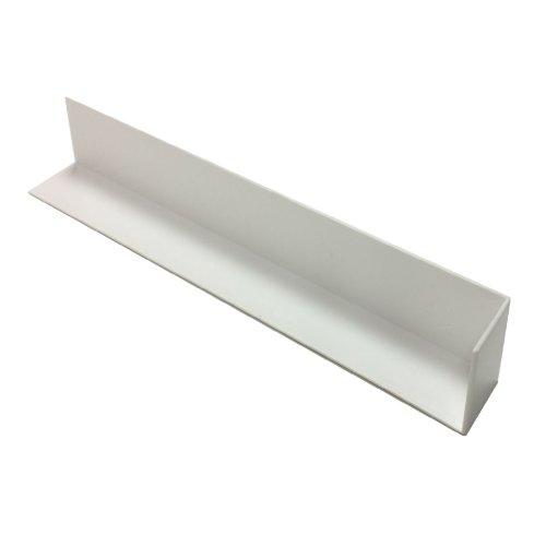 10 x UPVC Plastic Fascia Board Corner Joint White 300mm Square Edge Profile