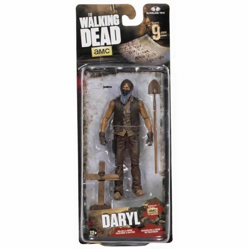 Grave Digger Action Figure   The Walking Dead - Daryl Dixon