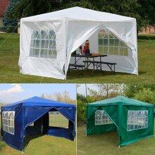 Waterproof Outdoor Garden Heavy Duty Gazebo Marquee Canopy Party Tent
