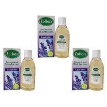 3 PCS ZOFLORA CONCENTRATED DISINFECTANT 120 ML LAVENDER MAKES 5L ANTI BACTERIAL
