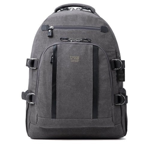 Troop London Classic Large Canvas Laptop Backpack | Buy Laptop Bags Online | Canvas Laptop Bag | shoulder bags for women