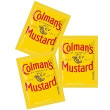 Colman's Original English Mustard Sachets - 1x198x7ml