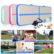 3M / 1M Inflatable Gymnastics Mat Air Floor Track Tumbling Mat with Pump