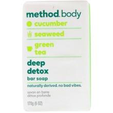 Method, Body, Deep Detox, Bar Soap, 6 oz (170 g)