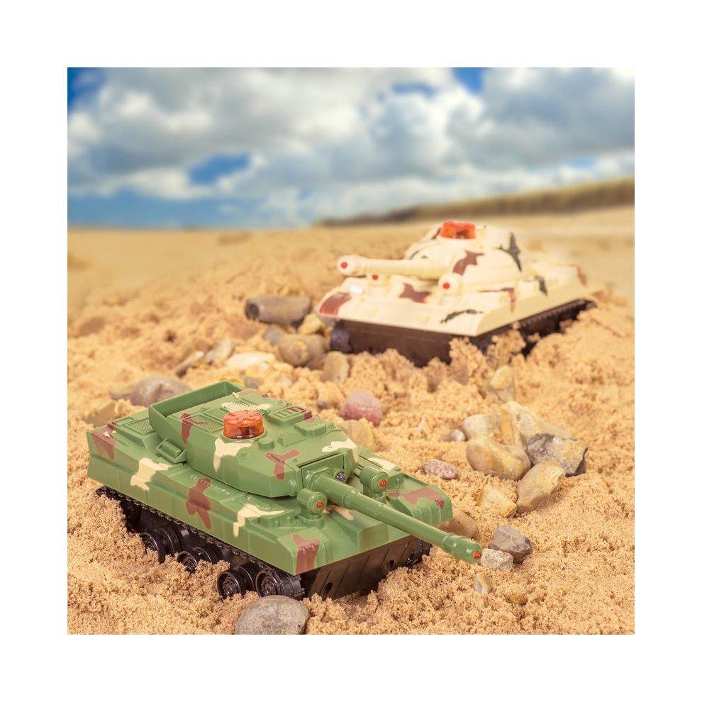 Battle Tanks - Game Remote Control Infrared Set Tobar Toy Twin 2 Rc -  battle tanks game remote control infrared set tobar toy twin 2 rc