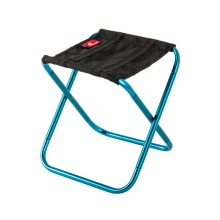 Mini Portable Outdoor Folding Chair Train Mazar Stool Rest Chair Camping Fishing Stool-Blue