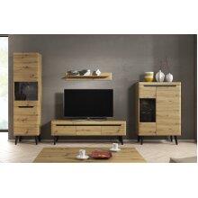 Artisan Oak Colour Living room Furniture Set NORDI