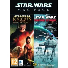 Star War Mac Pack: Empire at War / Knights of the Old Republic - Used