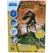 Dr. Steve Hunters T.Rex Skeleton Dino Excavation Kit (27 Piece)