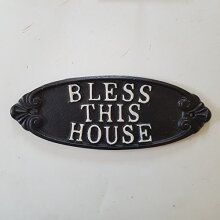 Bless This House Plaque