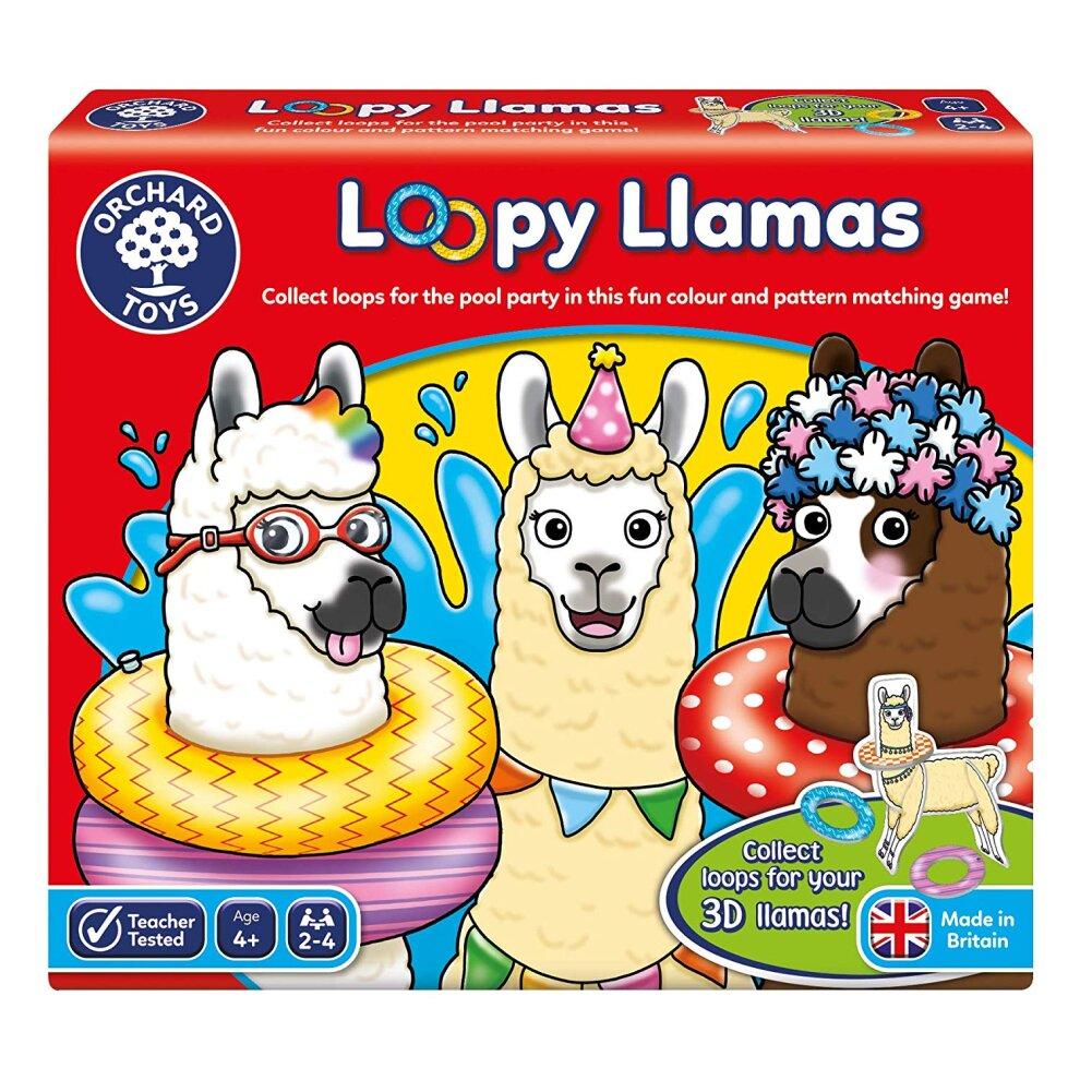 Orchard Toys Loopy Llamas Game 00092