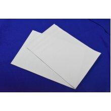 White Felt Self Adhesive Vinyl Sheet Size A3