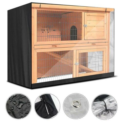 Bunny Rabbit Ferret Chicken Coop Pet Hutch Cage House Enclosure Cover