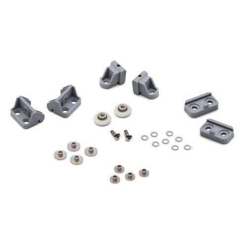 Set of Shower Door Rollers/Runners/Wheels 19mm Wheel Diameter Replacement Parts L017-1