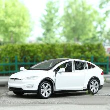 Tesla Model X 90D SUV Diecast Model Car Kids Gift