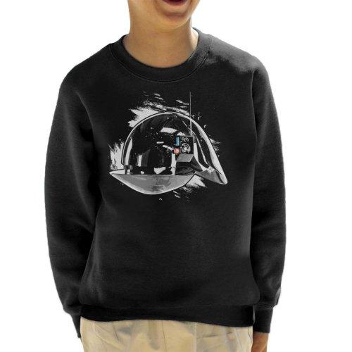 Original Stormtrooper Imperial Gunner Helmet Kid's Sweatshirt