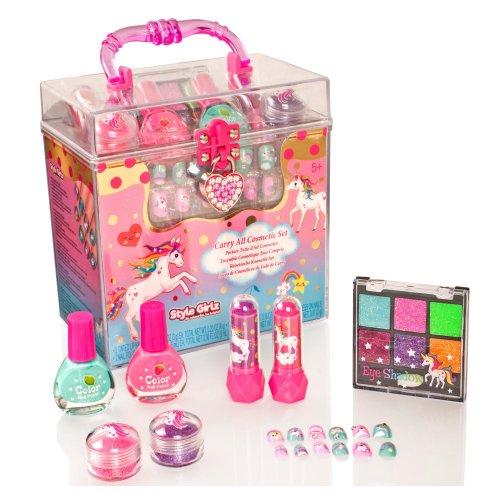 Style Girlz Unicorn Carry All Cosmetic Set | Unicorn Makeup Set