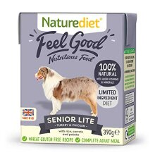 Naturediet Feel Good Senior - Lite Complete Wet Food 390g x 18