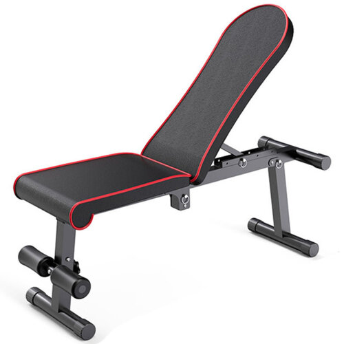 Foldable Weight Bench Utility Exercise Workout Adjustable Bench